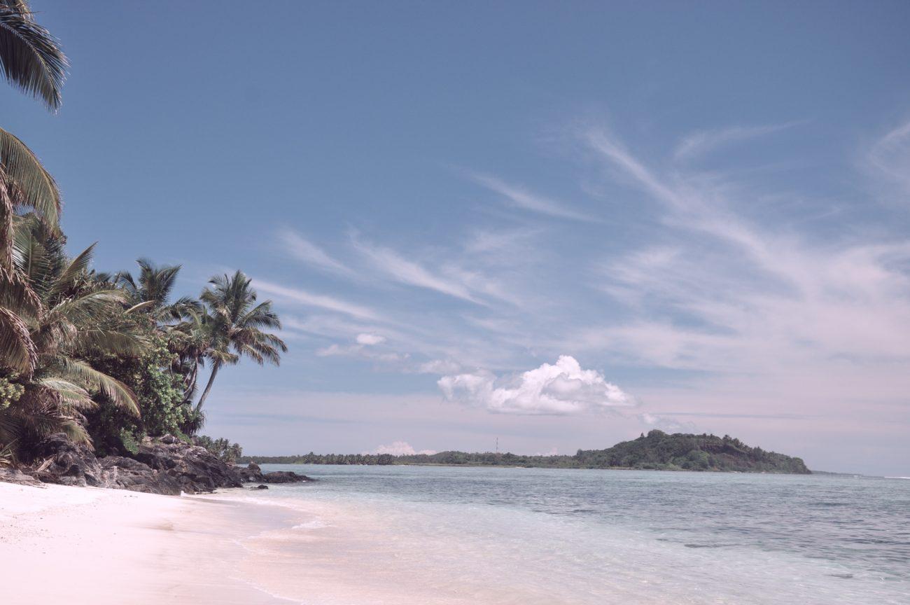 Plage de l'île aux nattes